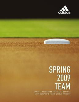 Catalogue: Adidas Spring 09 Team