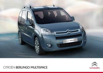 2011 Berlingo Multispace