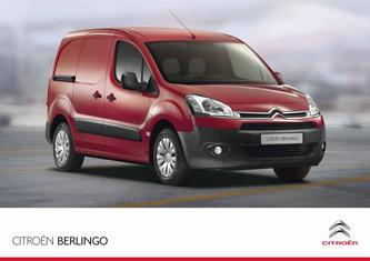 2013 Citroen Berlingo Panel Van