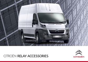 2013 Citroen Relay Accessories