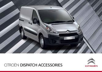 2013 Citroen Dispatch Accessories