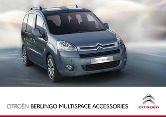 2013 Citroen Berlingo Multispace Accessories