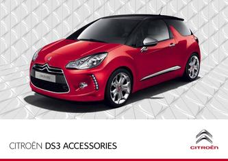 2013 Citroen DS3 Accessories