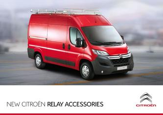 Citroen Relay Accessories 2015