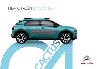 Citroen C4 Cactus Accessories 2015