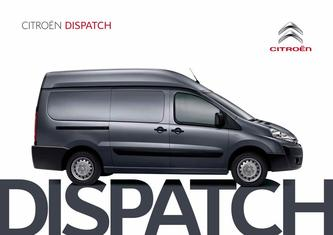 Citroen Dispatch Van 2015