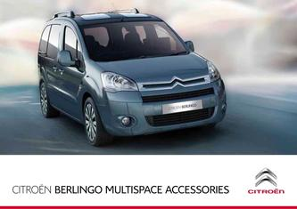 Berlingo Multispace Accessories 2017