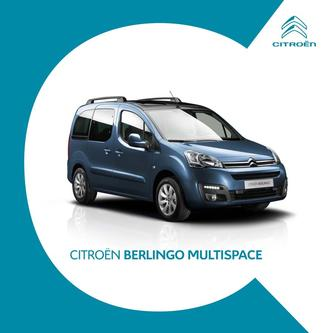 Berlingo Multispace 2017