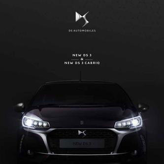 DS 3 and DS 3 Cabrio 2017