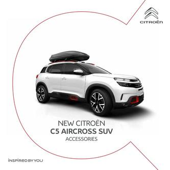 New C5 Aircross SUV Accessories 2019
