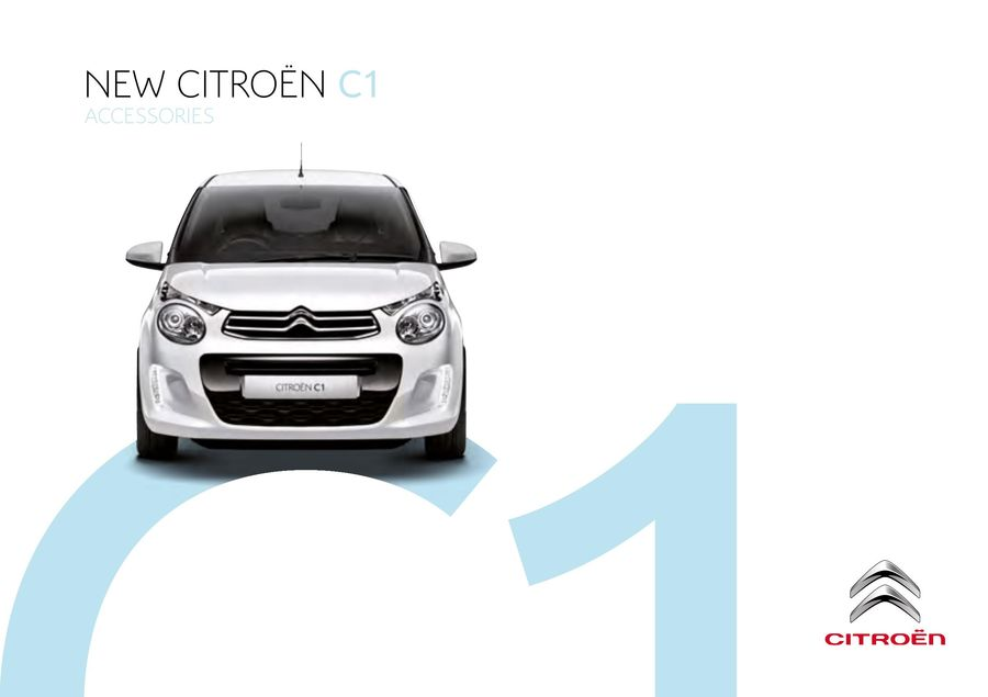 CITROEN C1 Tailored Car Mats FRONT PAIR