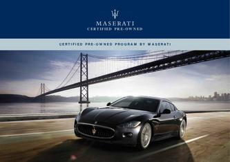 Certified Pre-Owned Maseratis