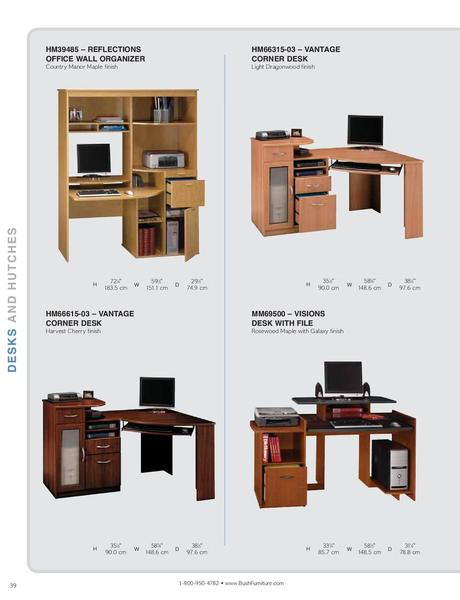 Page 40 of Bush Furniture North America of the catalog Home