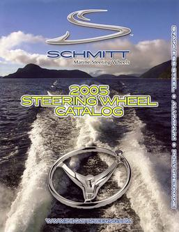 Marine steering wheel catalog