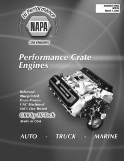 Performance Crate Engines