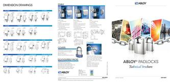 Padlocks Technical brochure