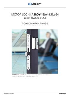 wiring diagram for ac package unit in motor locks abloy el648 motor locks abloy el648 el654 hook bolt
