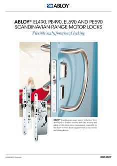 Scandinavian range motor locks