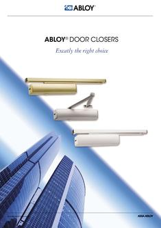 Door Closers - Exactly the right choice
