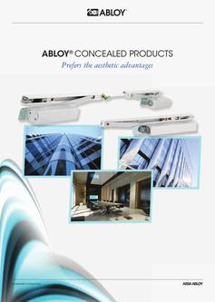 ABLOY Concealed products