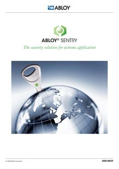 ABLOY SENTRY - The security solution for extreme application
