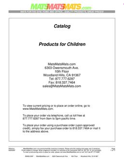 Products for Children