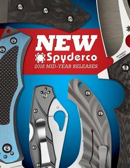2015 Spyderco Catalog Mid-Year Supplement
