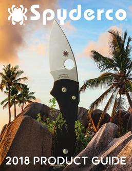 2018 Spyderco Product Guide