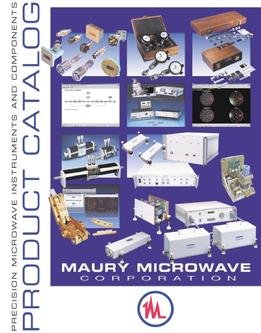 Catalogue: Maury Microwave Product Catalog