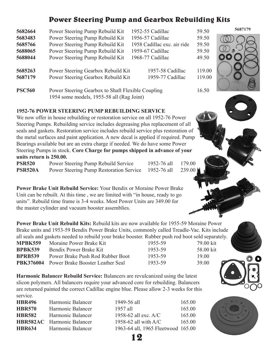 Page 14 of Cadillac C1 Parts 2012