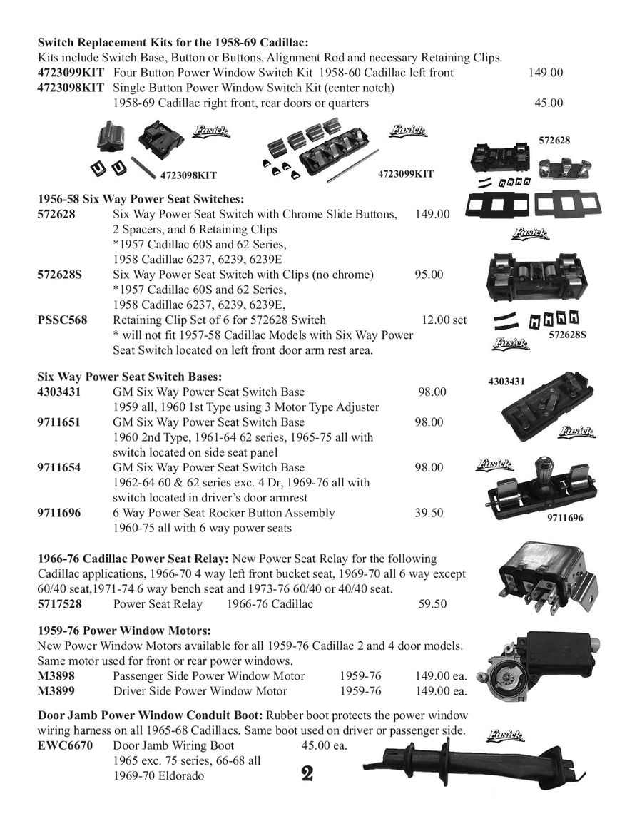 Page 4 Of Cadillac C 1 2 46 Parts 2013 1958 Wiring Harness P 49