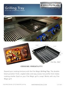 Fire Magic Grilling Tray 2017