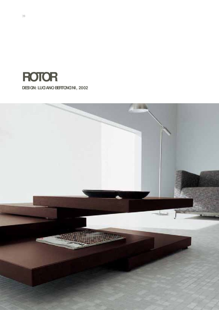 Page 40 Of Bellato Mini Catalog - Rotor-coffee-table-by-bellato