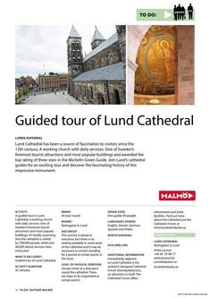 Guided Tour Of Lund Cathedral 2017