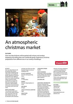 An Atmospheric Christmas Market 2017