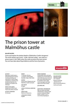 The Prison Tower At Malmöhus Castle 2017