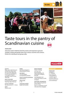 Taste tours in the pantry of Scandinavian cuisine 2017