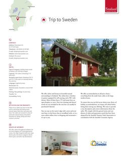Trip to Sweden (Holiday home rental company) 2017
