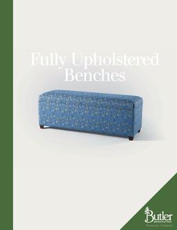 Fully Upholstered Benches