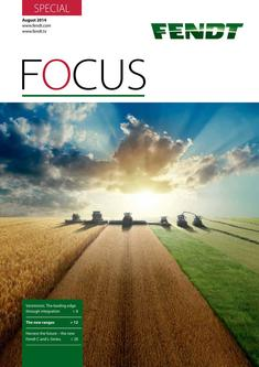 Fendt Focus Special August 2014