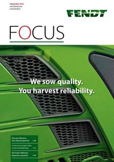 Fendt Focus September 2016