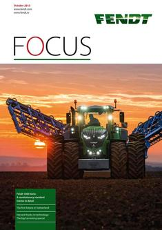 Fendt Focus October 2015