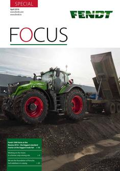 Fendt Focus Special April 2016
