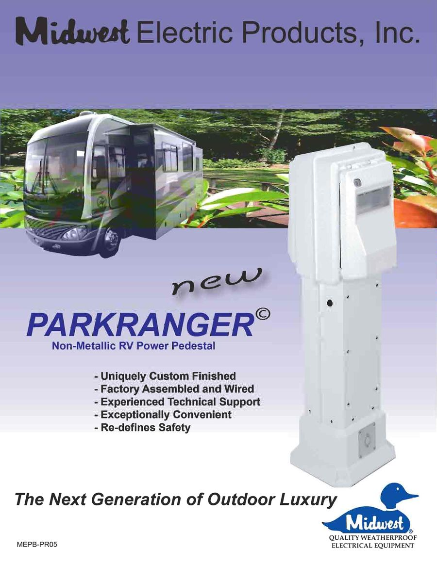 Parkranger rv product catalog 2005 by midwest electric cheapraybanclubmaster Images