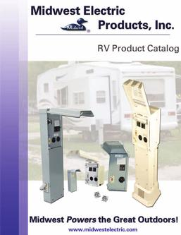 midwest electrical rv pedestals in rv product catalog 2005 by midwest electric