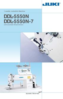 1-needle Lockstitch Machine DDL-5550N SERIES