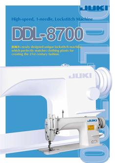 1-needle Lockstitch Machine DDL-8700