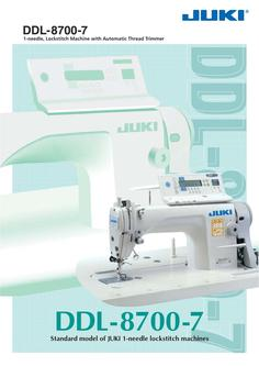 1-needle Lockstitch Machine with Automatic Thread Trimmer DDL-8700-7