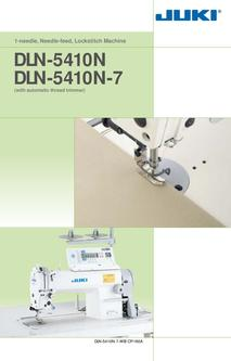 1-needle Needle-feed Lockstitch Machine