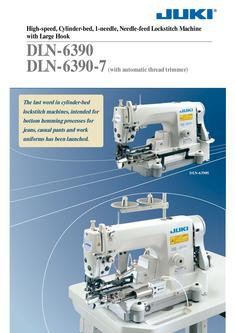 High-speed Cylinder-bed 1-needle Needle-feed Lockstitch Machine